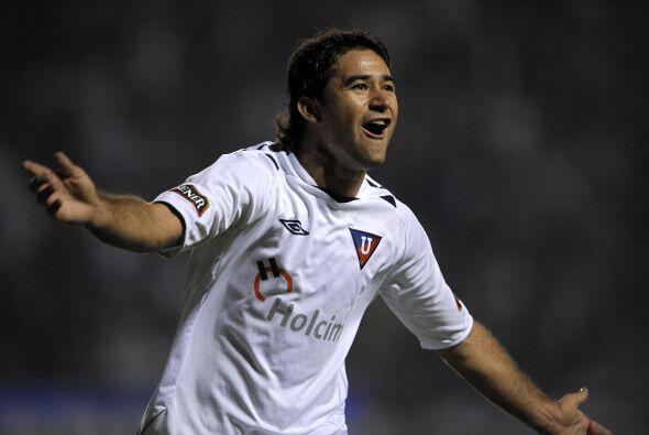 Claudio Bieler, delantero argentino, llegó a tierras ecuatorianas...