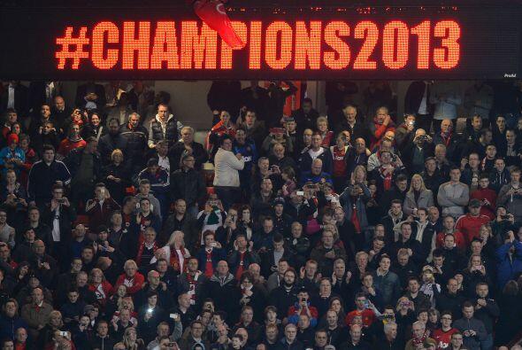 Enhorabuena a los 'Red Devils que son los campeones en este 2013.