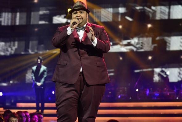 "Ricardo cantó ""Bésame"" en la tercera gala."