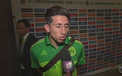 Jugadores de México satisfechos con el funcionamiento