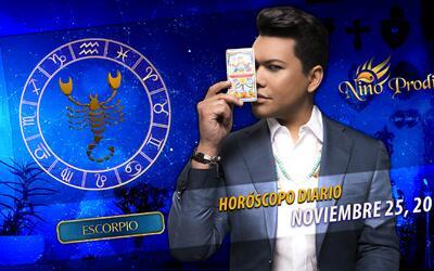 Niño Prodigio – Escorpión 30 de Noviembre, 2016