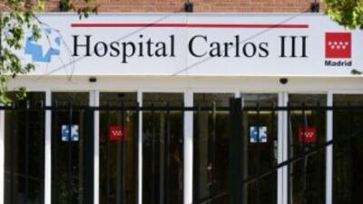 El sacerdote español será tratado en el Hospital Carlos III, cuya sexta...