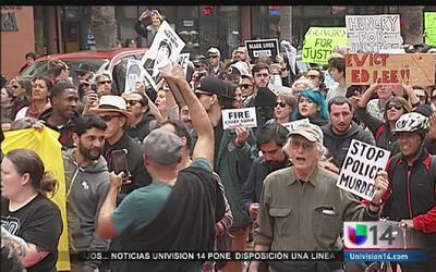 Piden destitución del jefe de la policía en SF