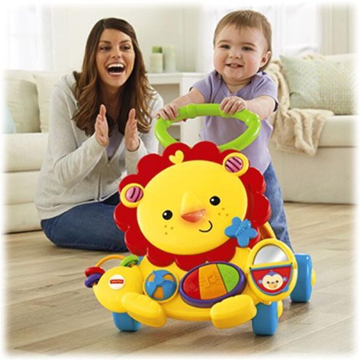 """Caminadora León Musical Rainforest Friends"": idel para que tú bebé desc..."