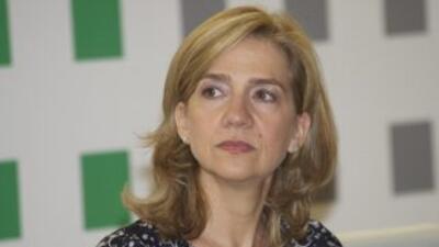 Cristina de Borbón, hermana del rey Felipe VI.