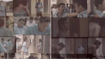 """Los cuatro integrantes del """"boyband"""" participaron de la filmación del co..."""