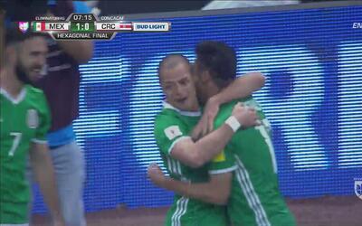 Chicharito marcó el 1-0 sobre Costa Rica y llegó a 46 goles con el Tri