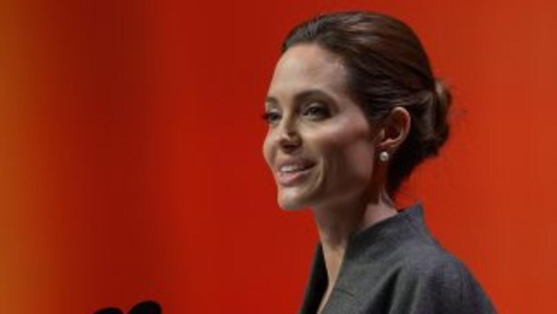 La actrizAngelina Jolie.