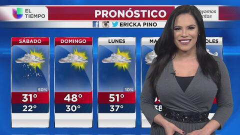 Posibilidad de nieve y temperaturas bajas en Chicago, el pronóstico para...