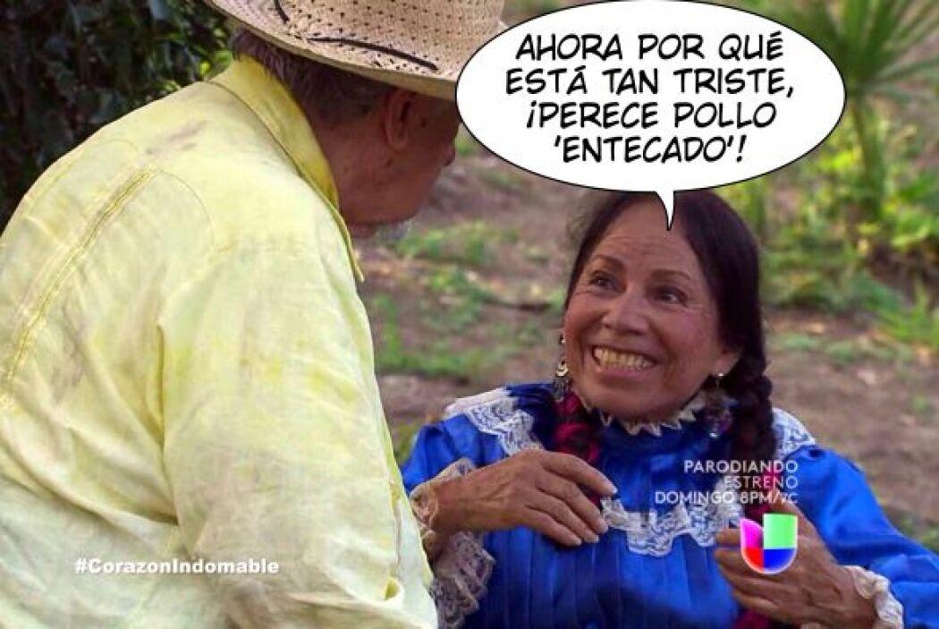 """Así le dijo """"María"""" a """"Ramiro"""" cuando lo vio tan desanimado en Corazón I..."""
