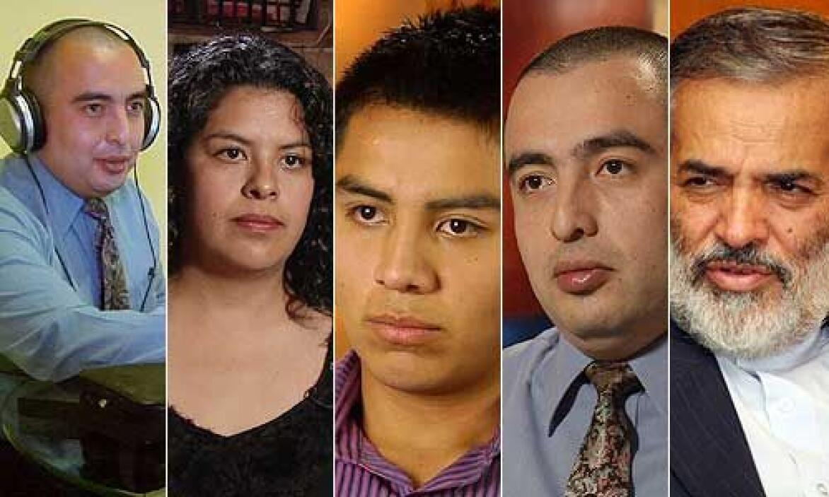 Estos son algunos de los actores que dieron vida a la Amenaza Iraní, un...