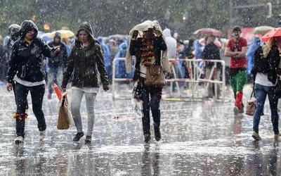 Intensas lluvias en la Costa Este en los próximos días