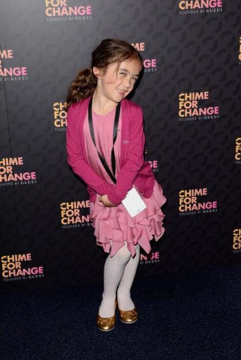 Incluso, la pequeña ha adoptado poses de las famosas como su mami para q...