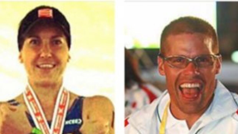Entre los desaparecidos figuraban los triatletas Fabiola Corona y Carlos...
