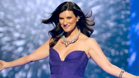 Laura Pausini no solo es una excelente cantante, también es una modelo e...
