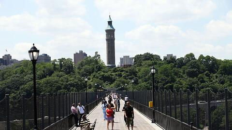 High Bridge, el puente más antiguo de la ciudad de Nueva York, es...