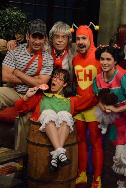 El equipo de Noche de Perros se declaró fan de Chespirito