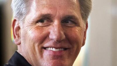 Kevin McCarthy se retira de competición para sustituir a Boehner