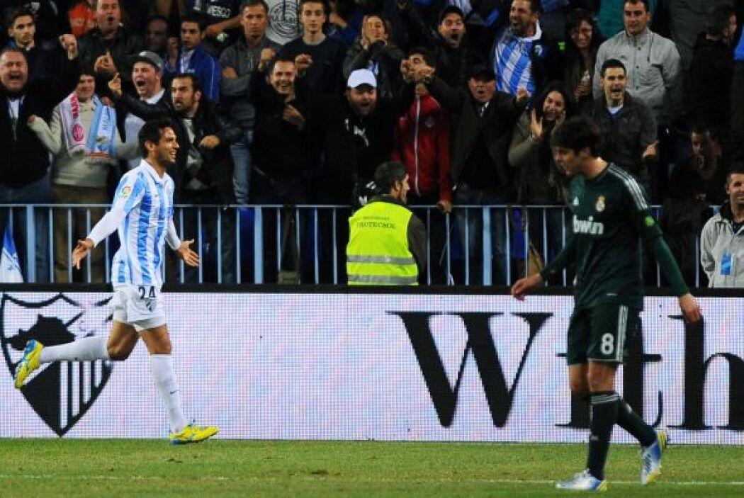 Con dos goles, Santa Cruz catapultó al triunfo de 3-2 al Málaga y de pas...