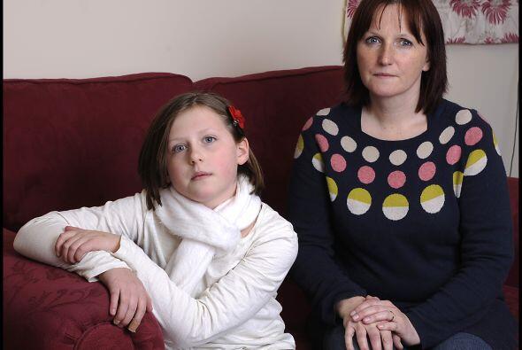Su nombre es Ella Murphy, de 11 años y sufre una enfermedad muy rara. La...