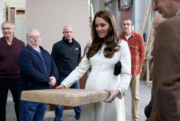 La duquesa se mostró muy interesada.