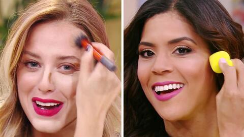 Francisca Lachapel y Mariela Bagnato se maquillaron en vivo para lucir c...