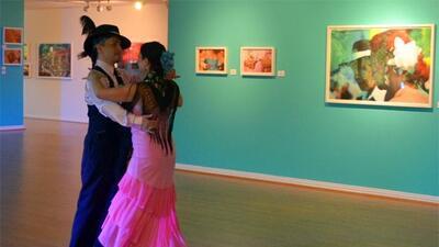 Exhibición fotográfica de Cristina Kahlo en el Consulado General de Méxi...