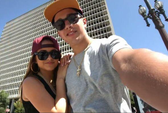 Becky G y Austin Mahone están 'in love' y así lo demostraron en un sensa...