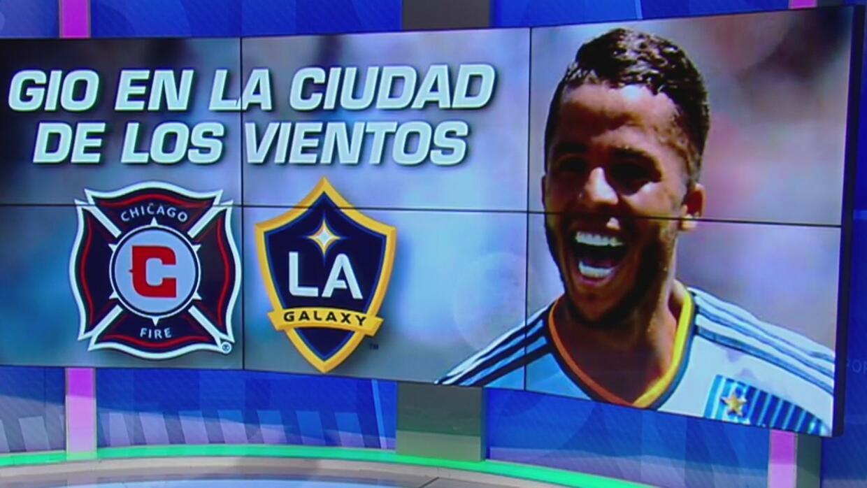Giovani dos Santos le dio al LA Galaxy el empate ante el Chicago Fire
