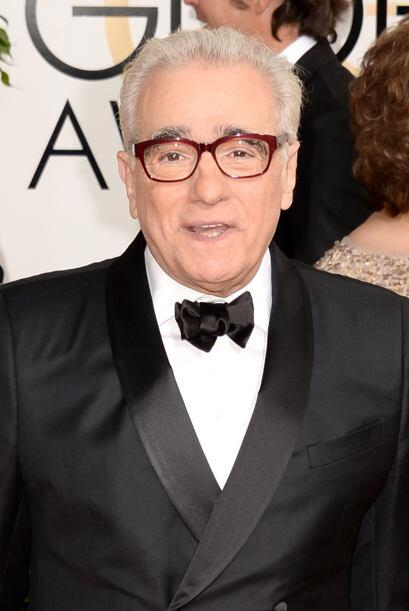 El director Martin Scorsese fue uno de los caballeros más elegant...