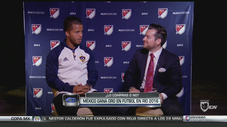 Giovani dos Santos espera que México gane la medalla de oro
