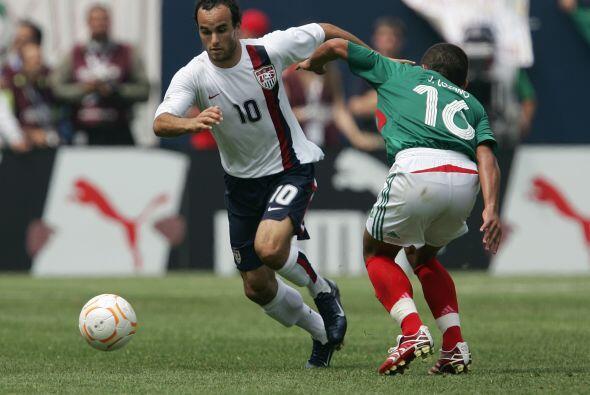 En éste certamen le anotaría a México el gol m&aacu...