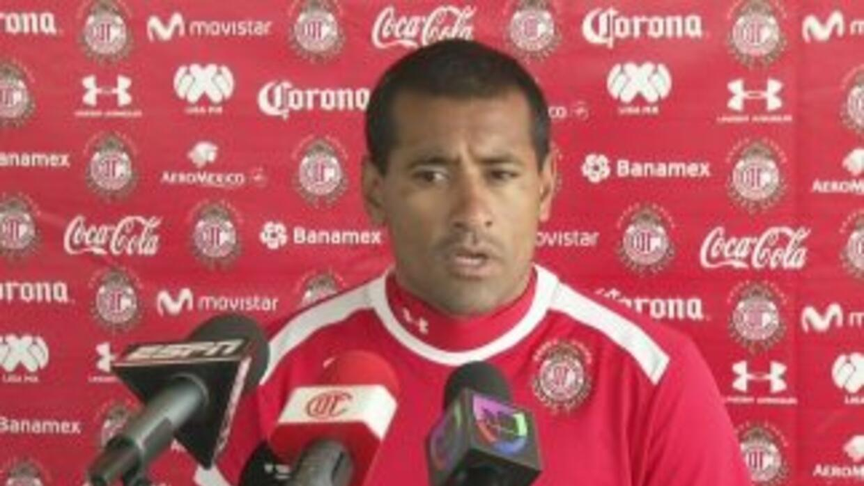 Paulo da Silva ilusionado con su regreso a Toluca