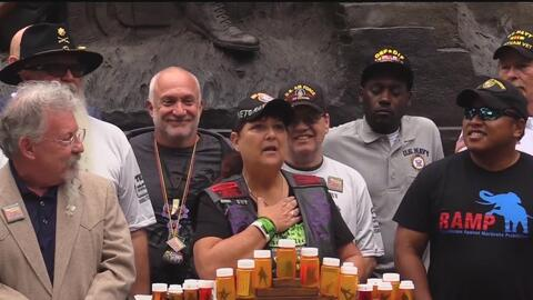 Veteranos en Austin dicen que la marihuana les salvó sus vidas