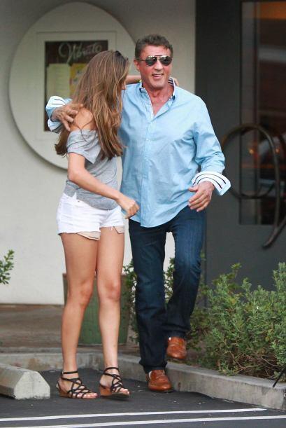 ¿Sylvester Stallone es un papi sobreprotector? ¡Para nada!