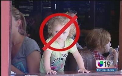Un restaurante en California no permite la entrada a niños