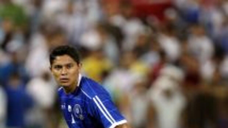 El jugador Víctor Turcios, del RoPS de Finlandia y que integra la lista...