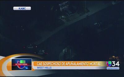 Apuñalan de muerte a una mujer en su casa de West Hills