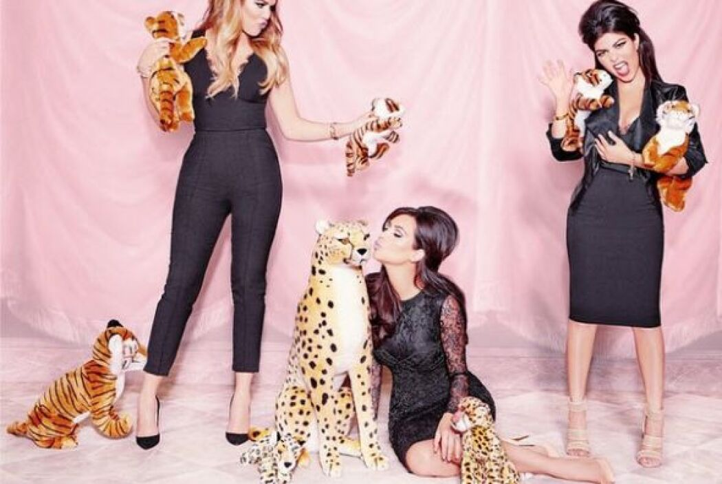 A todos los amantes de las Kardashians, así anuncian su nueva línea de p...