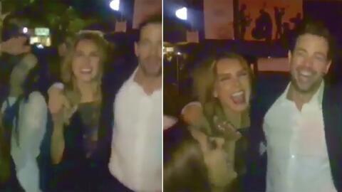 En vídeo: William Levy y Elizabeth Gutierrez salen de fiesta en Miami