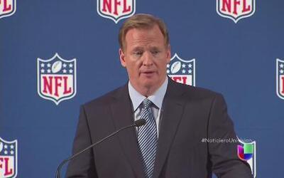El comisionado del futbol americano pidió perdón y prometió combatir la...