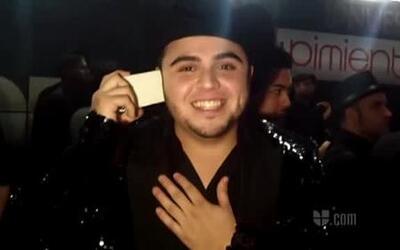 'La Fan Cam' encontró a Gerardo Ortiz detrás del escenario