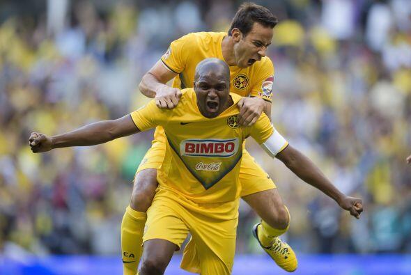 Aquivaldo fue el futbolista más constante del conjunto azulcrema y quien...