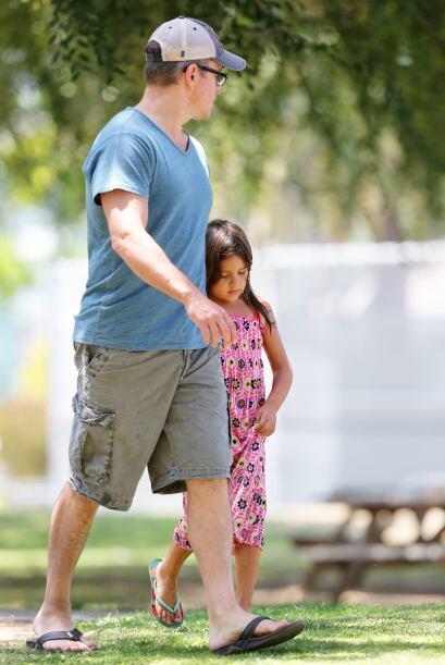 A Matt Damon le interesa que sus pequeñas se ejerciten, es por es...