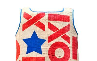 Un vestido de papel de la campaña de Richard Nixon en Carolina de...