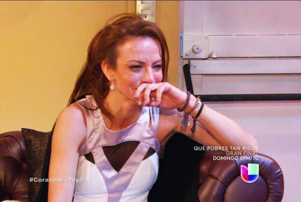 Ya Anita, tu llanto nos parte el alma. Sentías volar muy alto y la caída...