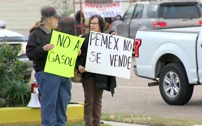 Protestas por gasolinazo mexicano llegan a Houston