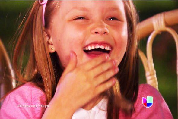 Mira cómo se divirtieron todos Ana. La pequeña Luz se murió de la risa c...
