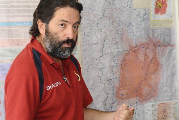 Hugo Yépez, director del estatal Instituto Geofísico (IG) de Quito, seña...