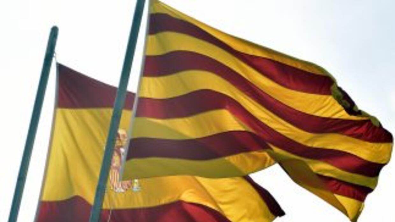 Bandera Cataluña.